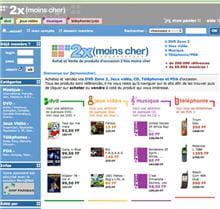 2xmoinscher.com en 2001.
