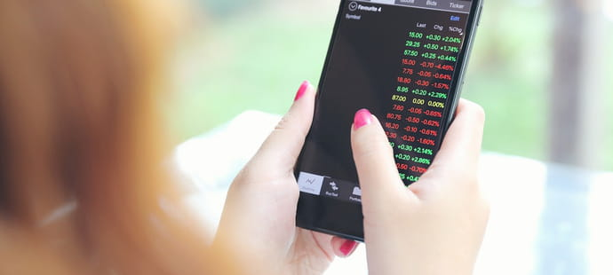 15 applications mobiles pour investir en bourse