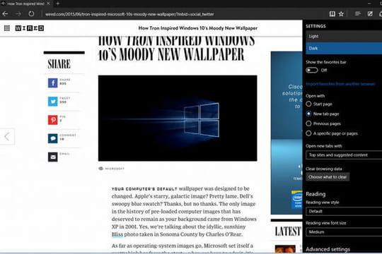 Bêta de Windows 10 : le navigateur Edge et Microsoft Wifi sont arrivés