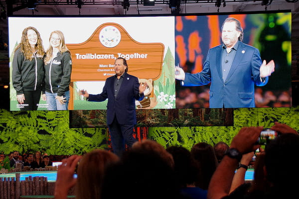 Dreamforce : Salesforce insuffle du vocal à tous les étages de son CRM