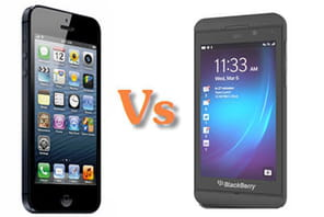 BlackBerry 10 Vs iPhone 5 : le match