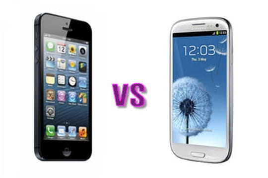 Test de l'iPhone 5 face au Galaxy S3
