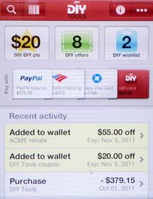 le récapitulatif de l'achat sur paypal wallet