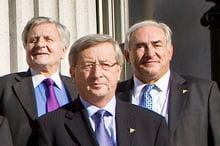 jean-claude juncker l'aurait convaincu de se présenter à la direction du fmi.