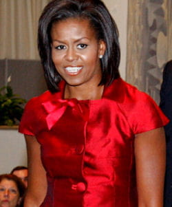 michelle obama est la femme la plus puissante du monde en 2010.