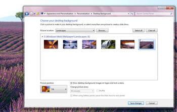 copie d'écran de l'interface de windows 8 pré-béta
