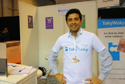 timothée deschamps, cofondateur de tokywoky