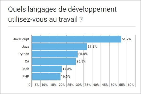 Quels sont les langages et compétences les plus prisés des devs?