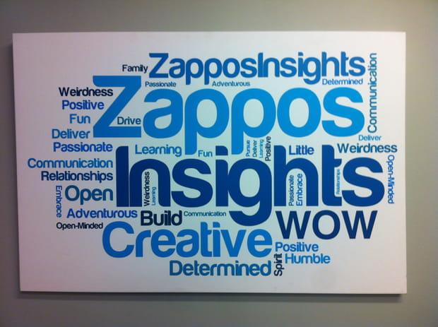 Valeurs communes : client, créativité, détermination...
