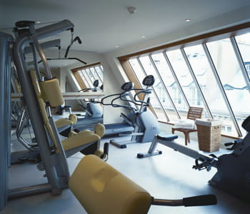 la salle de sport du westminster fitness club.