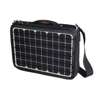 sacoche à panneaux solaires