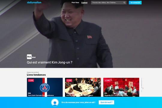 Info JDN: Vivendi fusionne Dailymotion et Watchever