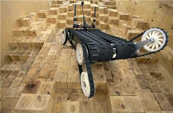 le robot quince, utilisé pour retrouver des survivants après une catastrophe