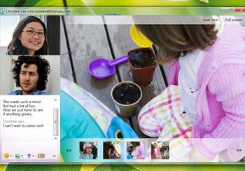 exemple d'échange de documents via windows live messenger