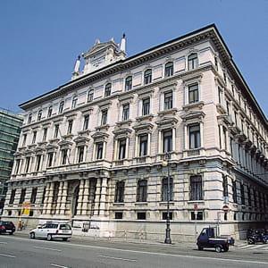 le siège social de l'assureur generali, dont mediobianca possède des parts.