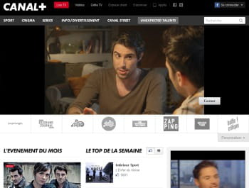 2ème : canal+