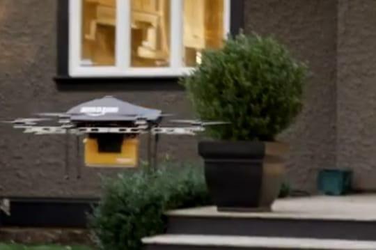 Amazon prépare des drones pour livrer les petits colis