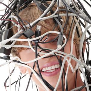 des câbles qui traînent partout, ça prend la tête.