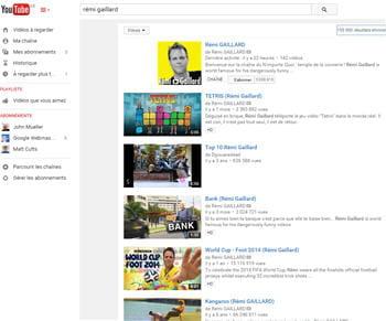 avec un speed index de 7407 (voir ci-contre), youtube s'est hissé à la 7e place
