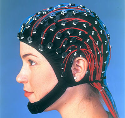 un exemple de casque eeg