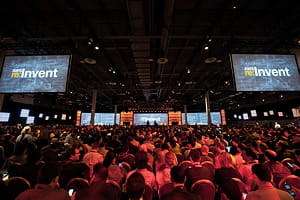 événement mondial 2013, aws re:invent, d'amazon autour de son cloud.