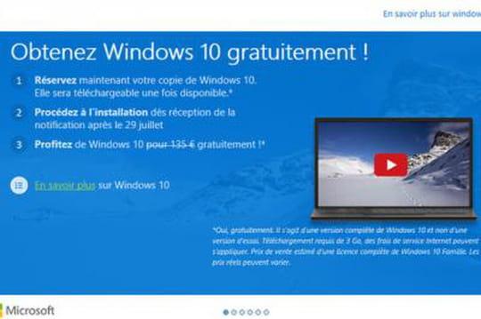 Windows 10 gratuit 1505