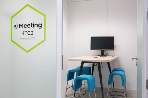 Plus de salles de réunion