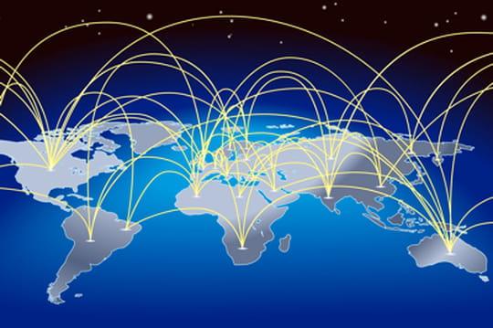 Carte : les principales exportations de chaque pays