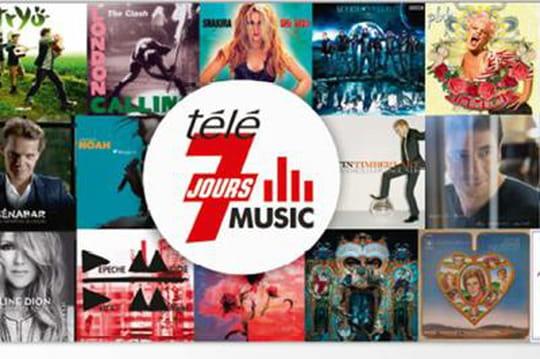 Télé 7 Jours lance la plateforme musicale Tele7Music.fr