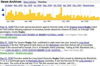 archives sur le thème du rugby entre 1939 et 1943