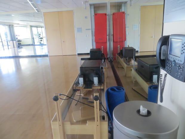 Une salle de Pilates