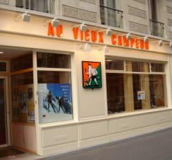 un des 25 magasins parisiens du vieux campeur.