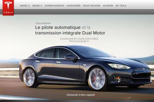 """Tesla dévoile les versions 4x4 et bi-moteurs de sa """"Model S"""", à la pointe de la technologie"""