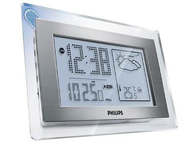 radio-réveil et station météo philips