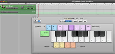 garage band, un outil de composition ludique
