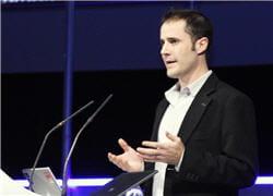 evan williams, l'un des trois fondateurs de twitter