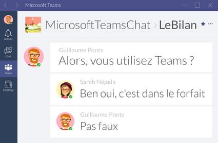 Un an après son lancement, Microsoft Teams a-t-il gagné face à Slack?