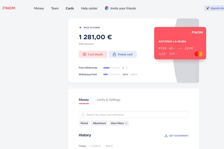 La néobanque pour pros Finom débarque en France