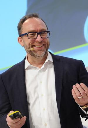 jimmy wales, fondateur de wikipédia.