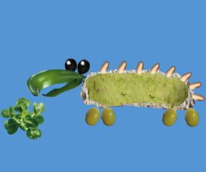 'petit creux' propose aux enfants de réaliser des recettes amusantes tout en les