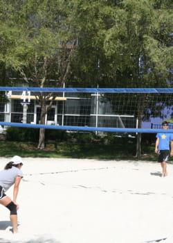 les salariés sont incités à pratiquer un sport sur le campus.