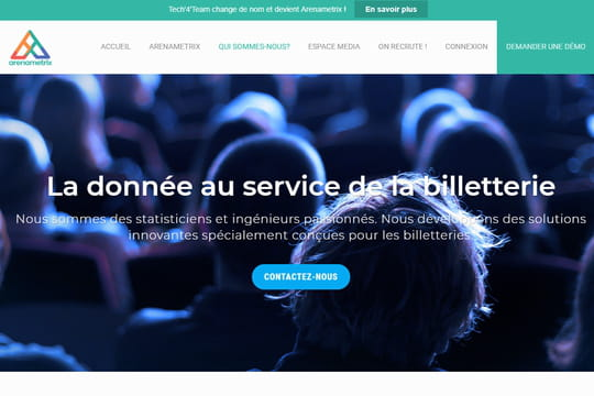 Arenametrix lève 2,5 millions d'euros pour sa plateforme de data marketing dédiée à l'entertainment