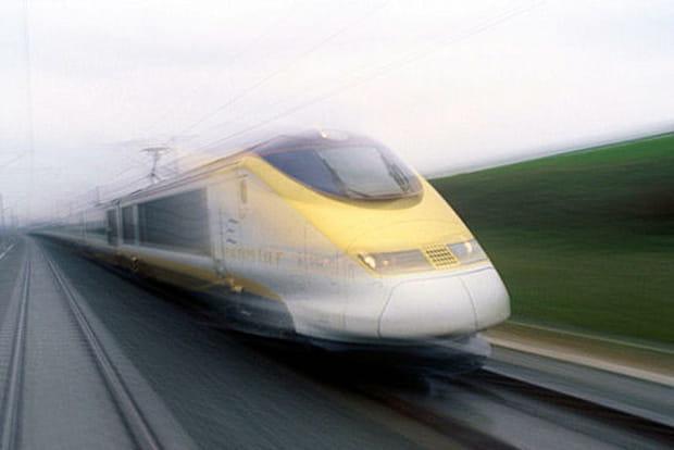 TGV à Paris, Londres et Bruxelles
