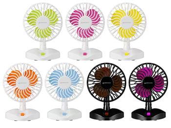très power flower, ces ventilateurs ont un goût des années 70.