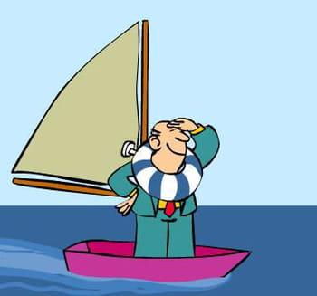 en croisière ou en régate, les dirigeants apprécient les sports nautiques.
