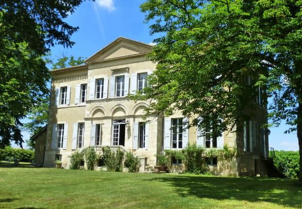 Un château dans le Gers