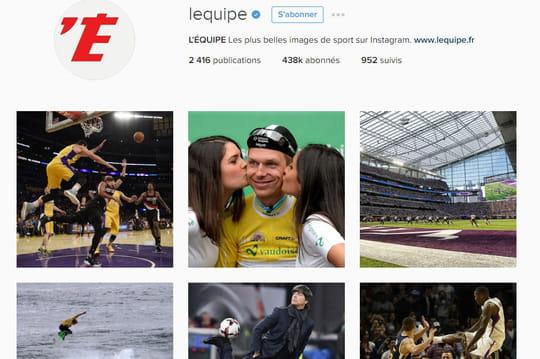 Instagram: où en sont les médias français?