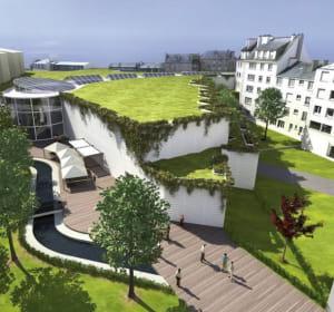 le centre commercial nouvelle coutume à vannes comprendra 40boutiques