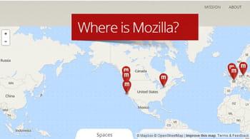 une page du site officiel de la fondation mozilla utilise mapbox...