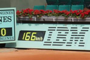IBM fête ses 25 ans de présence à Roland Garros